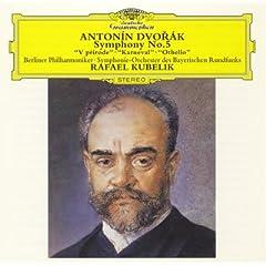 CD ラファエル・クーベリック指揮 ドヴォルザーク:交響曲第5番ほかの商品写真