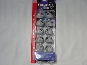 Oakland Raiders NFL Tailgate Party / Christmas Lights