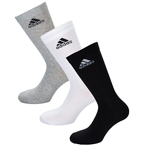 Adidas Mens Performance Thin Crew Pack Socks