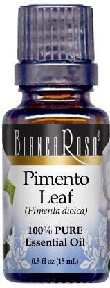 Pimento Leaf Pure Essential Oil (0.50 oz, ZIN: 305451)