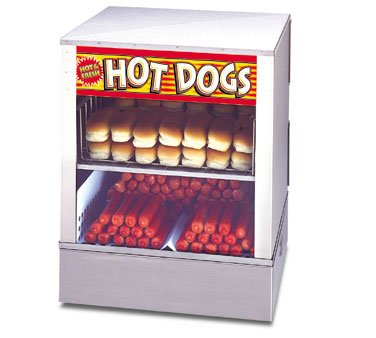 APW DS-1A Hot Dog Steamer with Bun Steamer Merchandiser