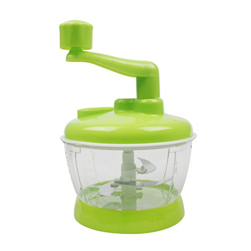 Easywin Manual Hand Operated Multi-function Complete Kitchen Food Processor Mixer Blender Chopper Beater Slicer Prep Machine (Blender Food Processor Slicer compare prices)