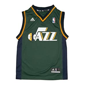 NBA UTAH JAZZ Youth Pro Quality Athletic Jersey Top by NBA
