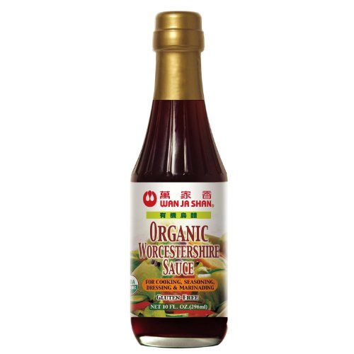 Wanjashan, Sauce Worcestershire Org, 10 OZ (Pack of 6)