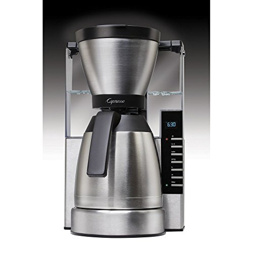 Capresso MT900 10 Cup Rapid Brew Coffee Maker with Thermal Carafe