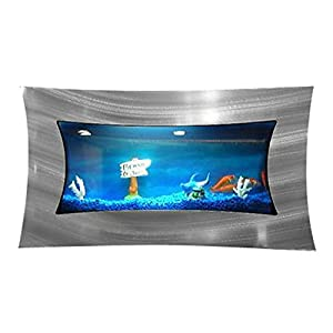 Bayshore Concave Aquarium With Starter Kit