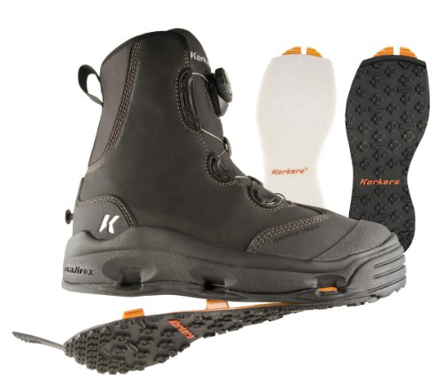 Korkers Devil's Canyon Wading Boot with Felt and Kling-On Outsoles