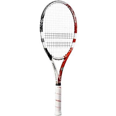 Babolat E-Sense RG/FO Clay Tennis Racquet Strung, Grip 3 (White/Black)