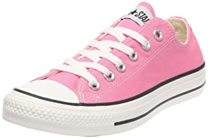 Converse Unisex Chuck Taylor All Star Low Pink Classic Colors Sneaker M9007 Size 5 Men/7 Women