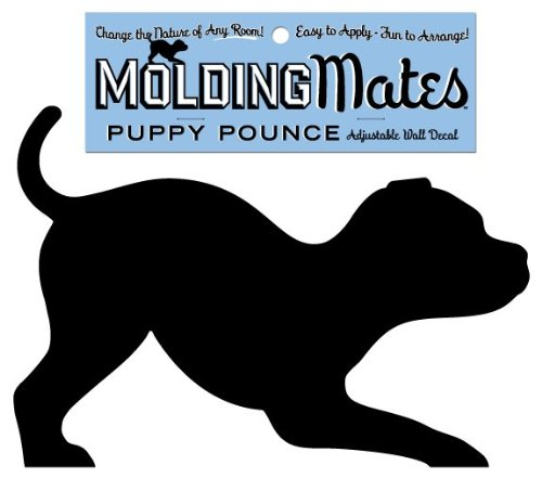 Molding Mates Puppy Pounce Molding Mates Home Decor Peel And Stick Vinyl Wall Decal Sticker