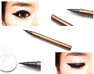 Click Here For Cheap Amazon.com: #5279 Black Waterproof Precision Liquid Eyeliner Smudge Proof Makeup Pencil Eye Liner: Beauty For Sale