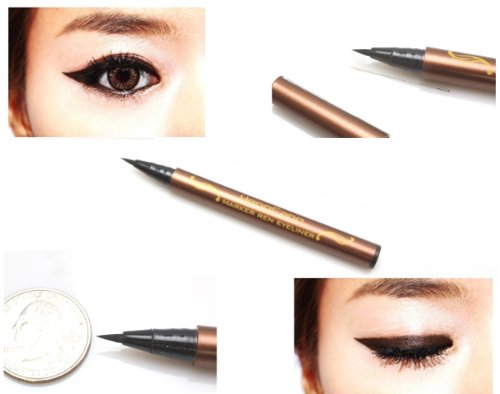 #5279 Black Waterproof Precision Liquid Eyeliner Smudge Proof Makeup Pencil Eye Liner