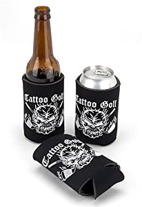 Tattoo Golf Collapsible Drink Koozie
