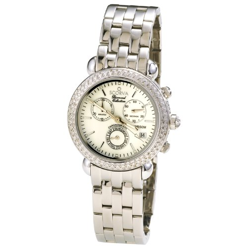 Scorva Womens Stainless Steel Swiss Movement