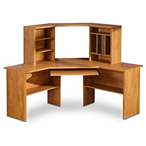 south shore furniture prairie collection corner desk country pine