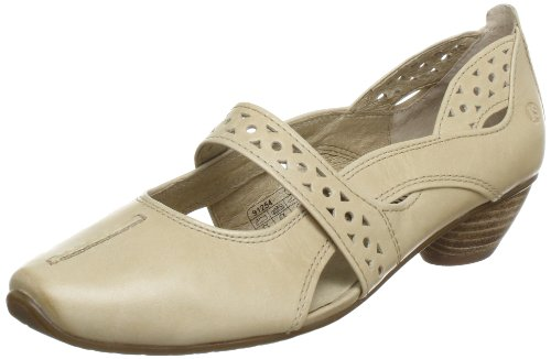 Josef Seibel Schuhfabrik GmbH Tina 307 Mary Jane Shoes Womens Beige Beige (düne 450) Size: 5 (38 EU)