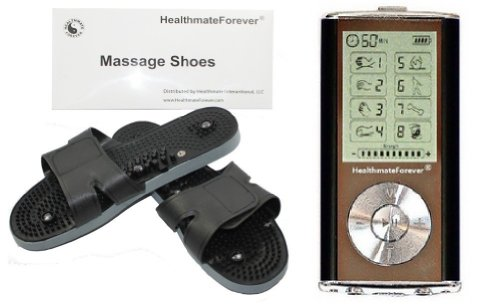 Healthmate Forever Full Body Hands Free Best Electrotherapy Electronic Pulse Neuropathy Pain Relief Electrotherapy Device +Shoes For Diabetic Feet, Plantar Fsciatis, Tendonitis Etc. (100% Quality Guarantee, Lifetime Warranty)