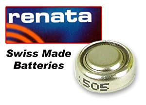 (Renata) Battery 377 (SR626SW) SILVER 1.55V (SWISS MADE)