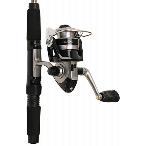 Daiwa Mini System Minispin Ultralight Spinning Reel and Rod Combo in Hard Carry Case (Fishing Rod And Reel Case compare prices)