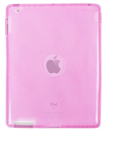 Fosmon Circle Design TPU Silicone Case Cover for Apple iPad 3 3rd GEN