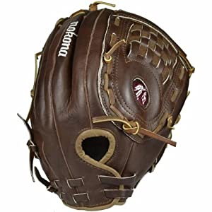 Nokona WS-1350C Walnut Softball Glove 13.5 Inch (Right Handed Throw)