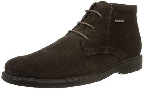 Geox U Brayden 2Fit Abx D - Stivali Desert Boots Uomo, Marrone (Coffeec6009), 43 EU