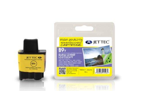 Jet Tec BRLC900Y Tintenpatrone für Brother LC900, gelb