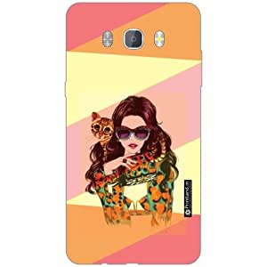 Samsung J7 new edition 2016 Back Cover - Silicon Abstract Designer Cases