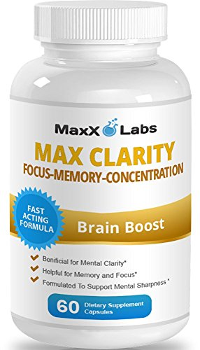 Max-Clarity-Brain-Supplement-Fights-Brain-Fog-and-Memory-Loss-Helpful-for-a-Sharp-Mind-and-Clear-Focus-One-of-the-Best-Brain-Food-and-Brain-Health-Supplements-Gluten-Free-60-Capsules