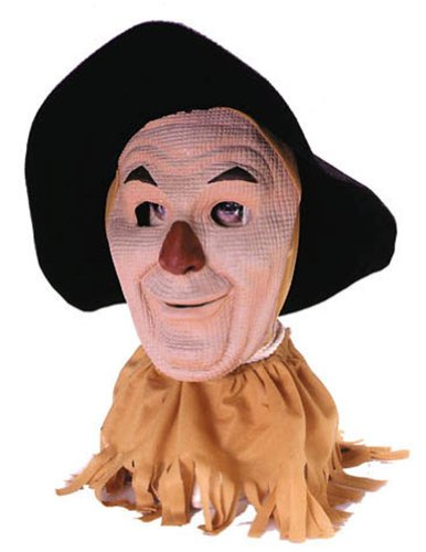 Scary-Masks Scarecrow Mask Halloween Costume - Most Adults