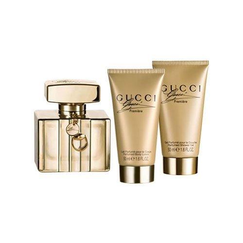 Gucci Premiere Coffret: Eau De Parfum Spray 50ml + Body Lotion 50ml + Shower Gel 50ml 3pcs