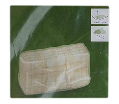 OBI Schutzhülle für Stuhlkissen transparent 32 x 50 x 125 cm Schirmhülle 396088 von OBI - Gartenmöbel von Du und Dein Garten