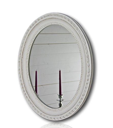 Wandspiegel-oval-in-wei-antik-mit-Patina-37-x-47cm-Spiegel-barock-aus-Holz-im-Landhausstil-als-Badspiegel-Schminkspiegel-bzw-Frisierspiegel-fr-das-Landhaus