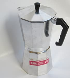 Vivi: BuonAroma Coffee Maker 12-Cups [ Italian Import ] from 3C Casalinghi