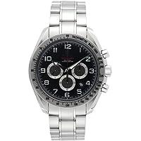 [オメガ]OMEGA 腕時計 スピードマスターブロードアロー ブラック文字盤 コーアクシャル自動巻 クロノグラフ 100M防水 デイト 321.10.44.50.01.001 メンズ 【並行輸入品】