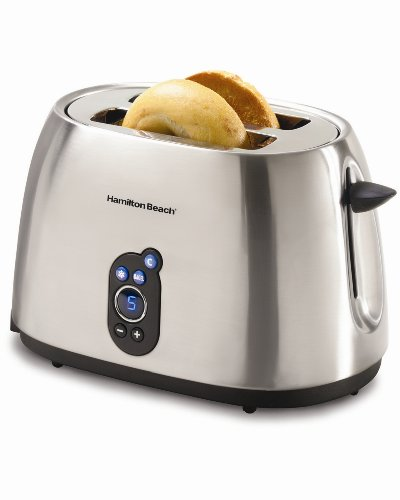 Hamilton Beach 22502 Digital 2 Slice Pop Up Toaster