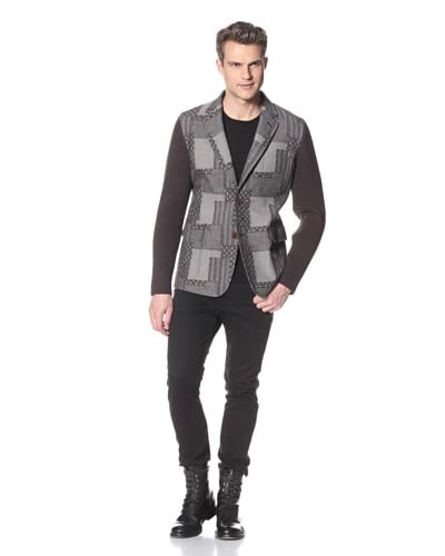 Vivienne Westwood Men's Blazer with Knit Sleeves
