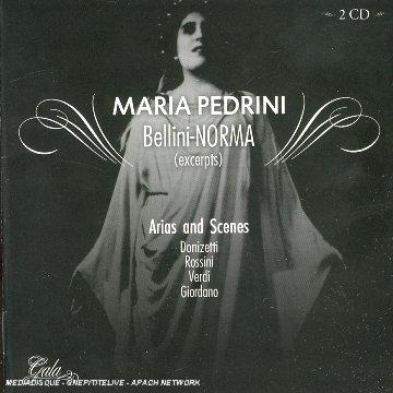 Norma (Pedrini)- Bellini - CD