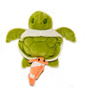 Baby Sherpa Safe2Go Child Safety Harness, Sea Turtle with Clown Fish