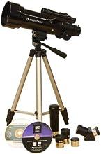 Comprar Celestron 21035 - Telescopio refractor, negro