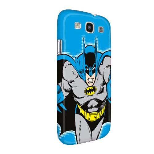 Fruwt SHP-SG3-BM2 Batman Graphic Case for Samsung Galaxy S III - 1 Pack - Retail Packaging - Blue at Gotham City Store