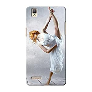 ArtzFolio Woman Dancer Stay Posing On The Eifel Tower Background : Oppo F1 Matte Polycarbonate ORIGINAL BRANDED Mobile Cell Phone Protective BACK CASE COVER Protector : BEST DESIGNER Hard Shockproof Scratch-Proof Accessories
