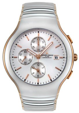 Jacques Lemans Men's 1307D Classic Collection Chrono Alarm Watch