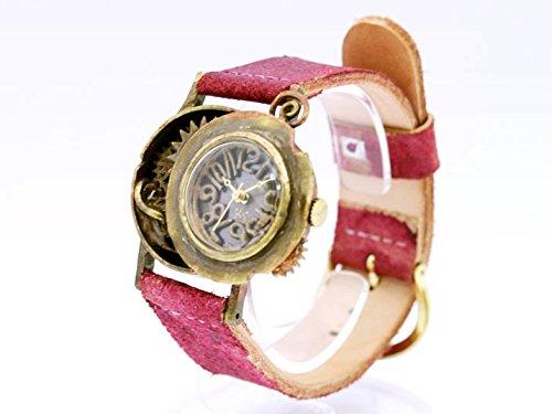 スチームパンク風デザインの腕時計「OUT OF TIME」 時計作家KS(篠原康治) 手作り時計のJHA