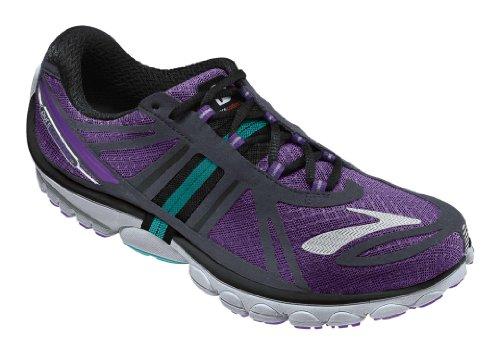 1056bd15d86a Brooks Womens PureCadence 2 Running Shoes Color   ElctrcPrple Anthrcte BluRadnce Size  8.0