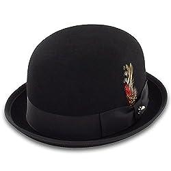 Belfry Deuce - Stingy Brim Bowler Men's Medium Black