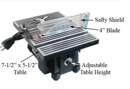 SE - Table Saw Miniature 4in