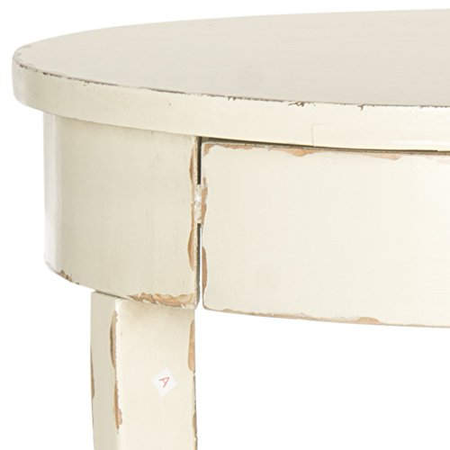Safavieh American Home Collection Kendra Vintage Cream End Table 3