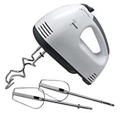 New Electric Hand Mixer Kitchen Whisk Utensils Food Egg Beater 7 Speed Whisk