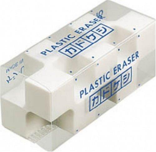 コクヨ 消しゴム カドケシ スチレン系エラストマー樹脂 20x50x20mm ケシ-U700